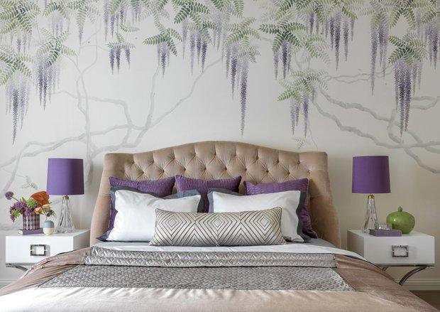 Фотография: Спальня в стиле Прованс и Кантри, Декор интерьера, Цвет в интерьере, Советы, Марина Поклонцева, Tikkurila, Flamingo – фото на INMYROOM
