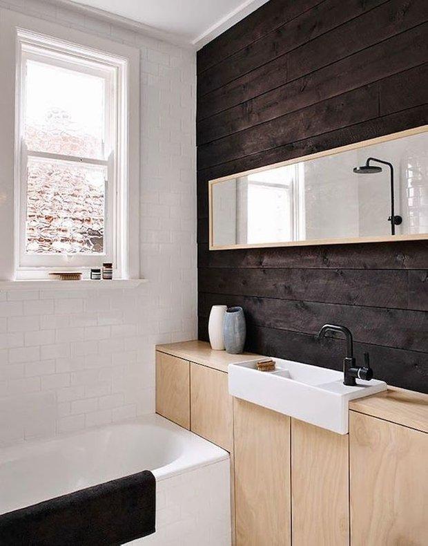 Фотография: Ванная в стиле Лофт, Скандинавский, Декор интерьера, Дизайн интерьера, Цвет в интерьере – фото на INMYROOM