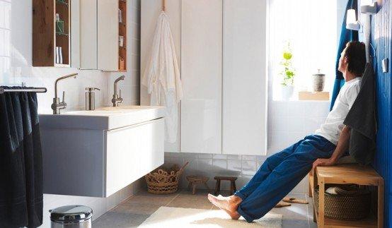 Фотография: Прочее в стиле , Ванная, Интерьер комнат, Советы, IKEA, Зеркала – фото на INMYROOM
