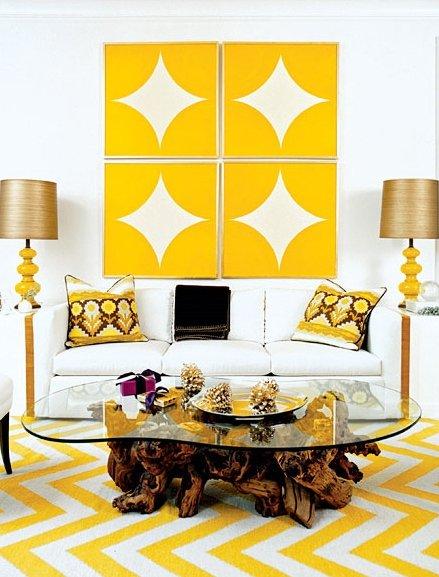 Фотография: Гостиная в стиле Скандинавский, Декор интерьера, Дом, Декор дома, Текстиль – фото на INMYROOM