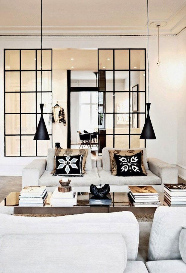 Фотография: Гостиная в стиле Восточный, Цвет в интерьере, Стиль жизни, Советы, Белый – фото на INMYROOM