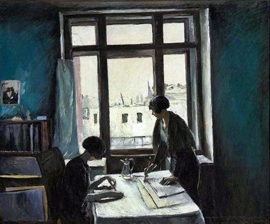Истомин Константин Николаевич (Россия, 1887-1942) «Вузовки» 1933