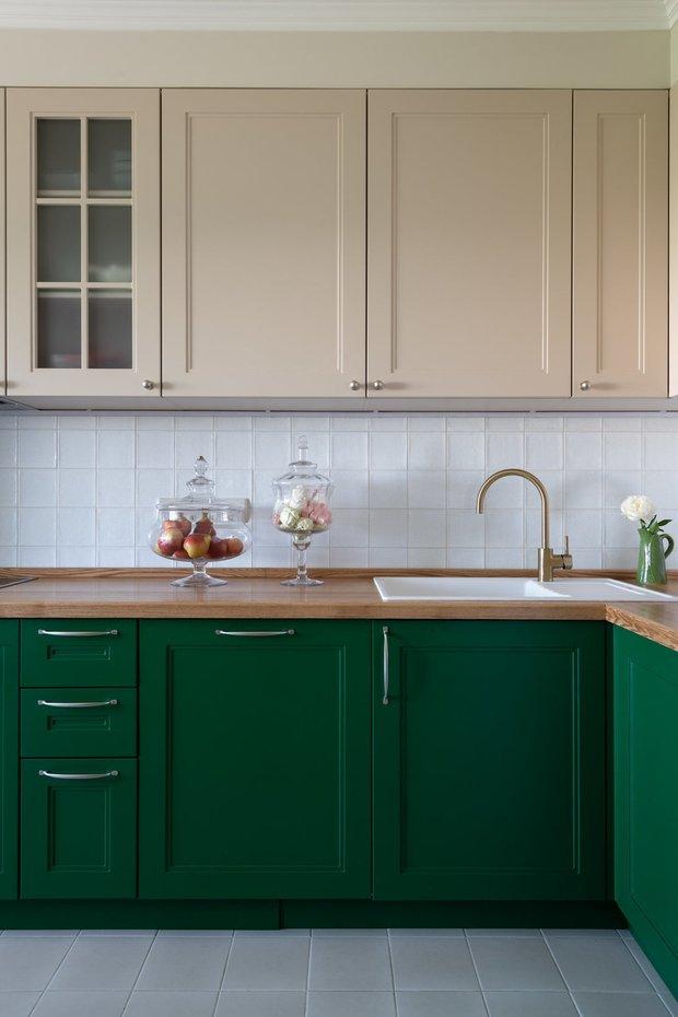 Фотография: Кухня и столовая в стиле Современный, Квартира, Советы – фото на INMYROOM