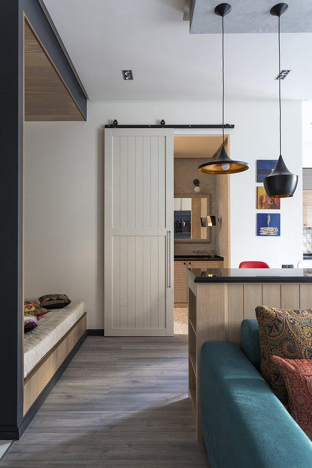 Фотография: Гостиная в стиле Восточный, Лофт, Квартира, Студия, Советы, Гид – фото на INMYROOM