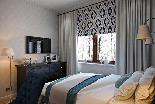 Фотография: Спальня в стиле Эклектика, Лофт, Квартира, Проект недели – фото на INMYROOM
