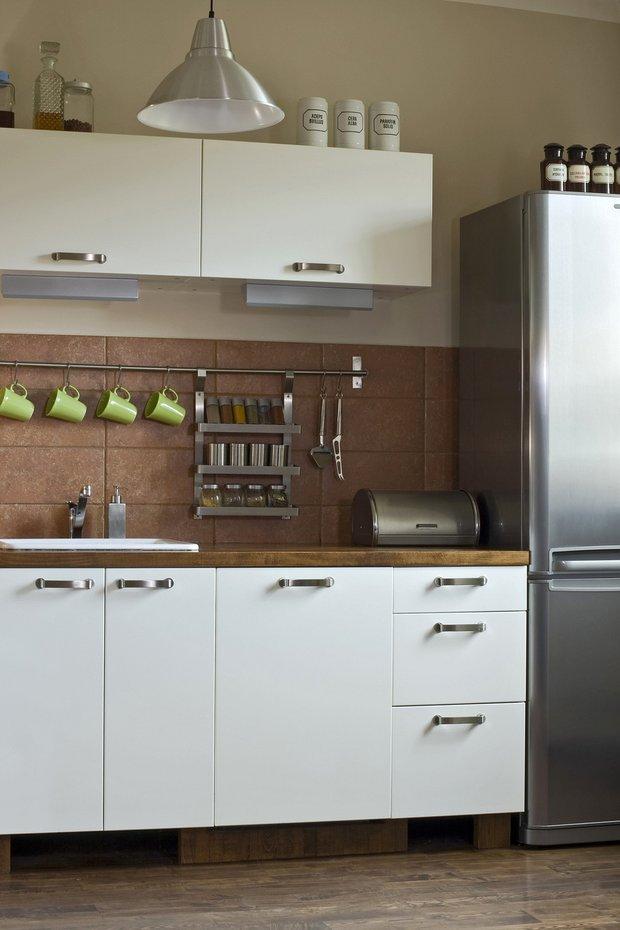 Фотография: Кухня и столовая в стиле Лофт, Интерьер комнат, HOFF, Системы хранения – фото на INMYROOM