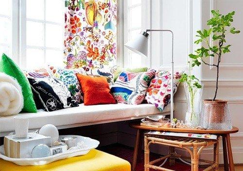 Фотография: Гостиная в стиле Скандинавский, Декор интерьера, Интерьер комнат, Цвет в интерьере, Советы – фото на INMYROOM