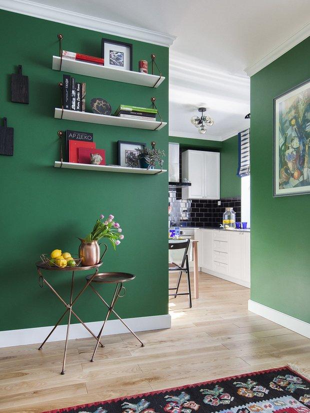 Фотография:  в стиле , Малогабаритная квартира – фото на INMYROOM