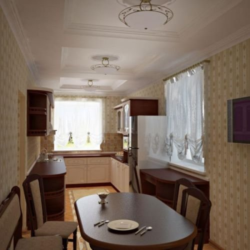 Фотография: Кухня и столовая в стиле , Малогабаритная квартира, Квартира – фото на InMyRoom.ru