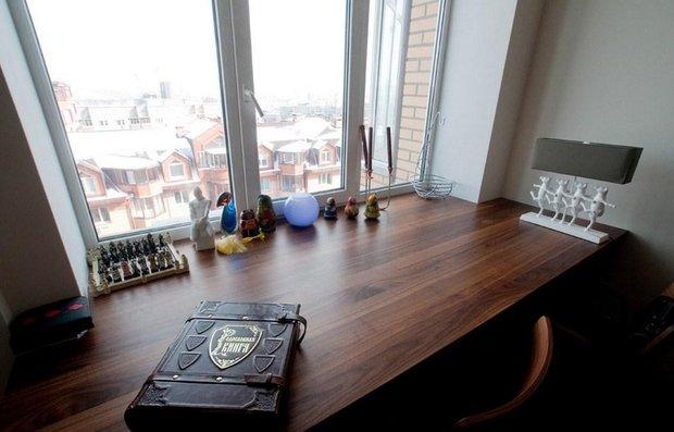 Фотография: Кухня и столовая в стиле Современный, Гостиная, Скандинавский, Малогабаритная квартира, Квартира, Мебель и свет, Советы – фото на INMYROOM