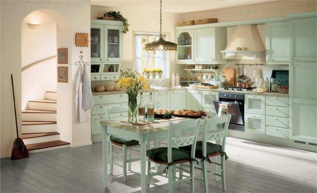 Фотография: Кухня и столовая в стиле Прованс и Кантри, Ванная, Советы – фото на INMYROOM