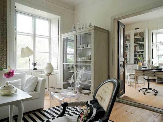 Фотография: Гостиная в стиле Прованс и Кантри, Эклектика, Индустрия, Люди, IKEA – фото на INMYROOM