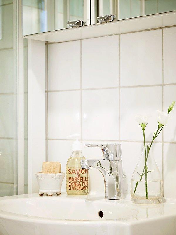 Фотография: Ванная в стиле Скандинавский, Современный, Декор интерьера, Квартира, Дома и квартиры, Прованс, Шебби-шик – фото на INMYROOM