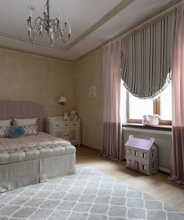 Фотография: Спальня в стиле Классический, Детская, Декор интерьера, Ольга Берелет – фото на INMYROOM
