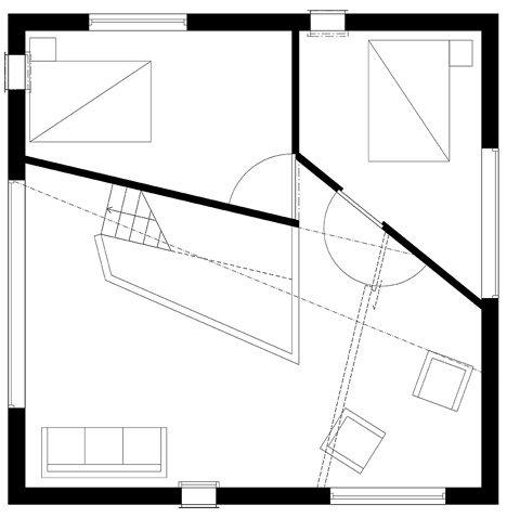 Фотография: Планировки в стиле , Скандинавский, Швеция, Белый, Бежевый, Синий, Дом и дача, Tommy Carlsson – фото на INMYROOM