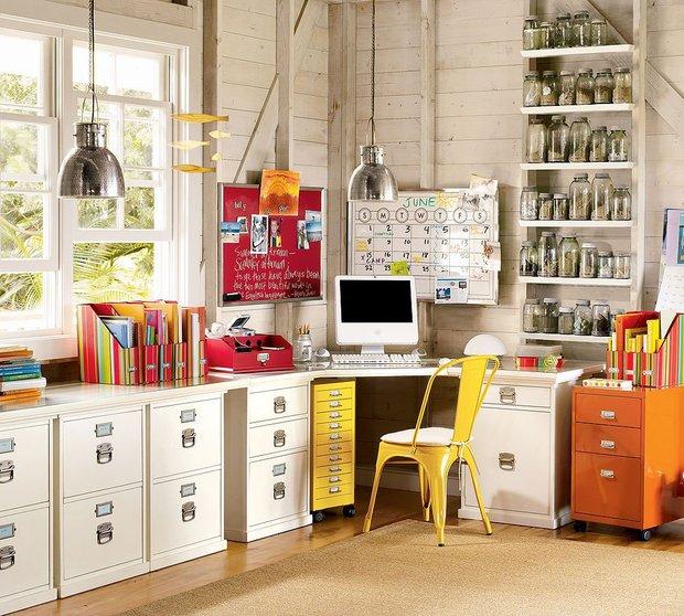 Фотография: Офис в стиле Лофт, Детская, Интерьер комнат – фото на INMYROOM