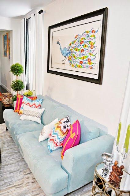 Фотография: Гостиная в стиле Восточный, Интерьер комнат, Переделка – фото на INMYROOM