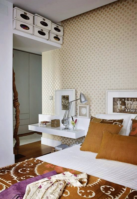 Фотография: Спальня в стиле Современный, Декор интерьера, Интерьер комнат, Проект недели – фото на INMYROOM
