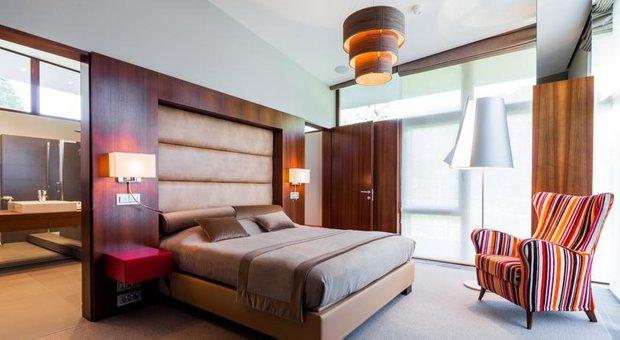 Фотография: Спальня в стиле , Дома и квартиры, Городские места, Отель, Проект недели – фото на INMYROOM