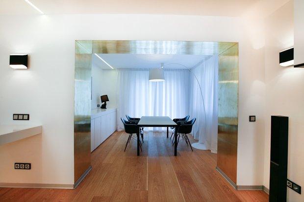Фотография: Кухня и столовая в стиле Современный, Гостиная, Декор интерьера, Интерьер комнат, Дачный ответ – фото на INMYROOM