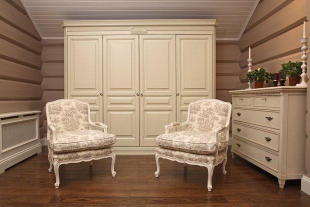 Фотография: Мебель и свет в стиле Классический, Современный, Квартира, Дома и квартиры – фото на INMYROOM