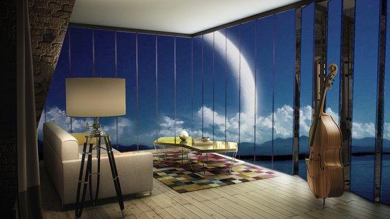 Фотография: Терраса в стиле Минимализм, Квартира, Дома и квартиры – фото на INMYROOM