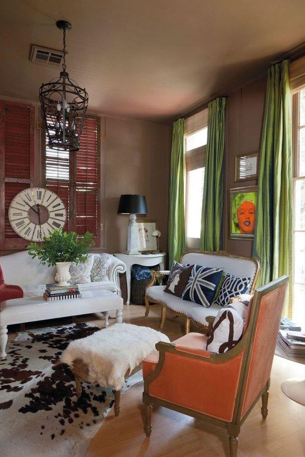 Фотография: Гостиная в стиле Классический, Современный, Декор интерьера, Декор дома, Цвет в интерьере – фото на INMYROOM