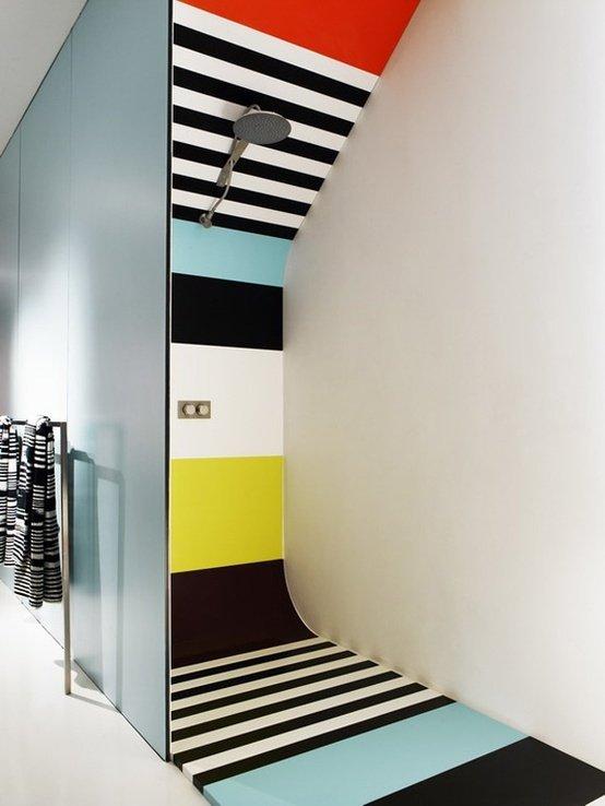 Фотография: Ванная в стиле Хай-тек, Декор интерьера, Дизайн интерьера, Цвет в интерьере – фото на InMyRoom.ru