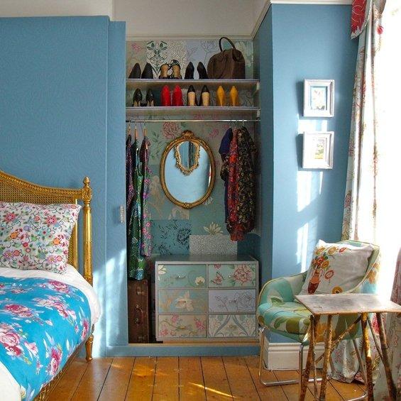 Фотография:  в стиле , Гардеробная, Хранение, Интерьер комнат, Переделка – фото на INMYROOM