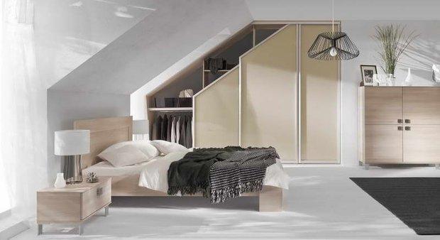 Фотография: Спальня в стиле Современный, Стиль жизни, Советы, Стена, Зеркало – фото на INMYROOM