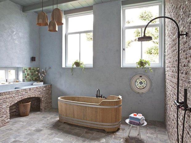 Фотография: Ванная в стиле Лофт, Интерьер комнат, Советы – фото на INMYROOM