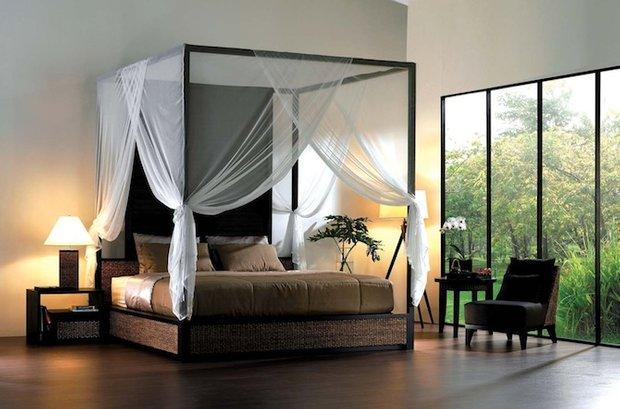 Фотография: Спальня в стиле Современный, Декор интерьера, Мебель и свет, Балдахин – фото на INMYROOM