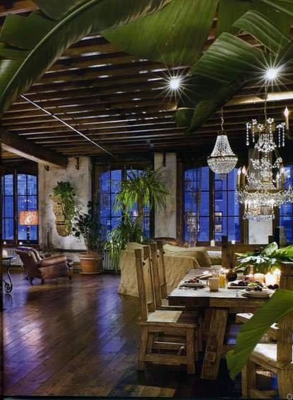Фотография: Кухня и столовая в стиле Прованс и Кантри, Лофт, Декор интерьера, Квартира, Дома и квартиры, Интерьеры звезд – фото на INMYROOM