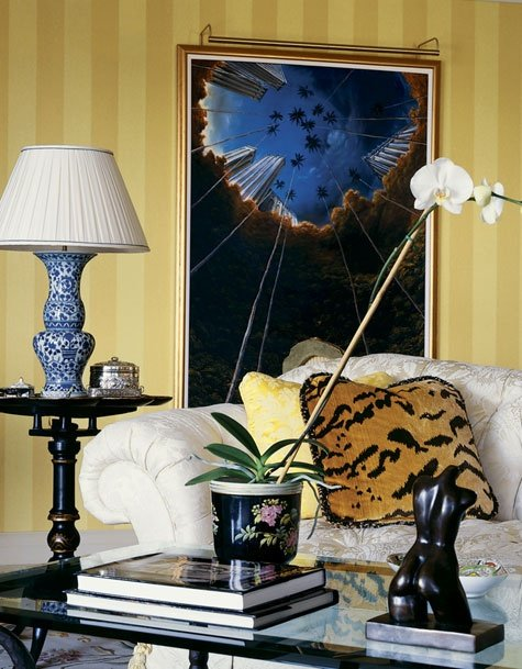 Фотография: Гостиная в стиле Восточный, Декор интерьера, Декор дома, Картины, Поп-арт – фото на INMYROOM