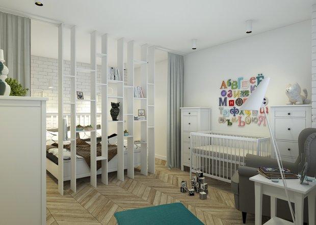 Фотография: Детская в стиле Скандинавский, Квартира, Дома и квартиры, IKEA – фото на INMYROOM