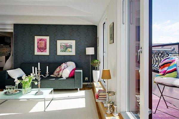 Фотография: Гостиная в стиле , Балкон, Декор интерьера – фото на INMYROOM