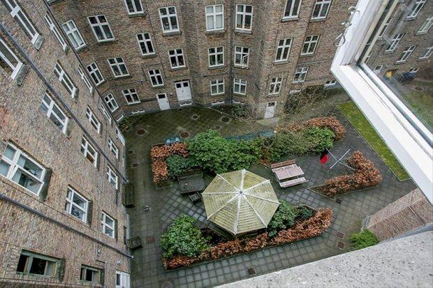 Фотография: Ландшафт в стиле , Скандинавский, Малогабаритная квартира, Квартира, Дома и квартиры – фото на INMYROOM