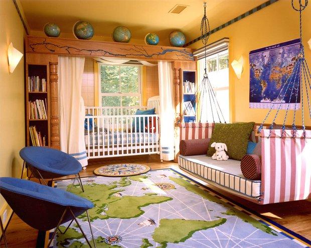 Фотография: Детская в стиле Современный, Декор интерьера, Интерьер комнат, Международная Школа Дизайна – фото на INMYROOM