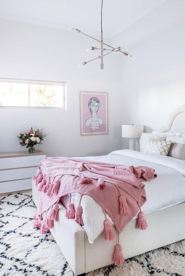 Фотография: Спальня в стиле Скандинавский, Минимализм, Кухня и столовая, Гостиная, Декор интерьера, Квартира, Австралия, Розовый, Голубой – фото на INMYROOM