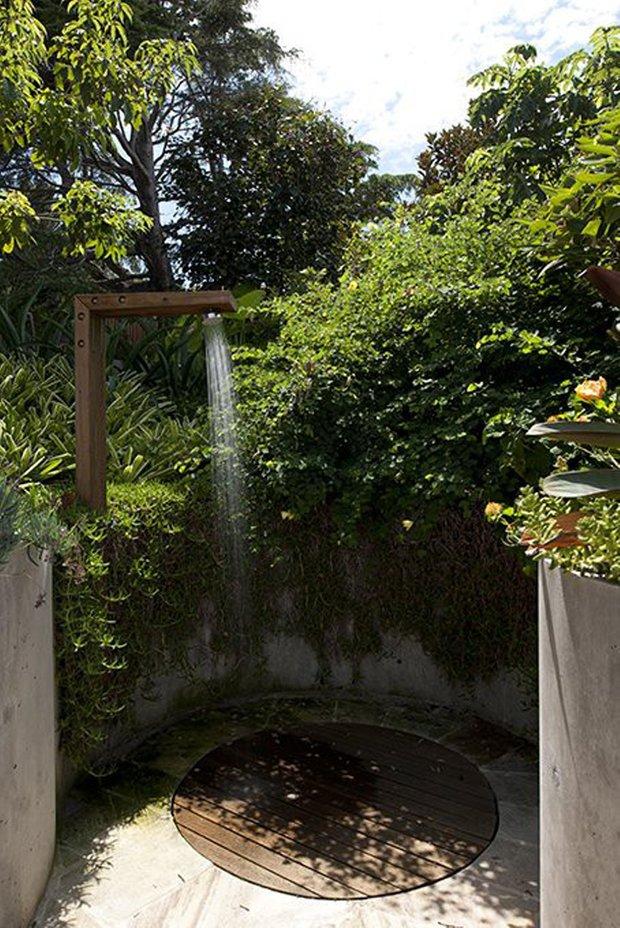 Фотография: Ландшафт в стиле Современный, Ванная, Дом, Стиль жизни, Дача – фото на INMYROOM