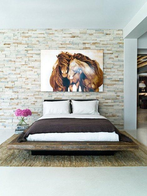 Фотография: Спальня в стиле Скандинавский, Декор интерьера, Интерьер комнат, Кровать – фото на INMYROOM