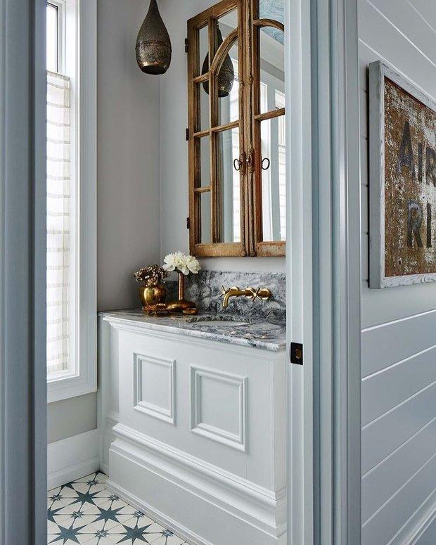 Фотография: Ванная в стиле Прованс и Кантри, Декор интерьера, Дача, Дом и дача – фото на InMyRoom.ru