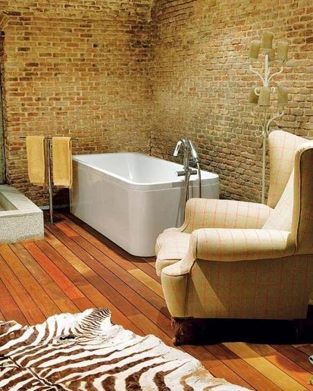 Фотография: Ванная в стиле Эклектика, Декор интерьера, Дом, Антиквариат, Дома и квартиры, Стена, Мадрид – фото на INMYROOM