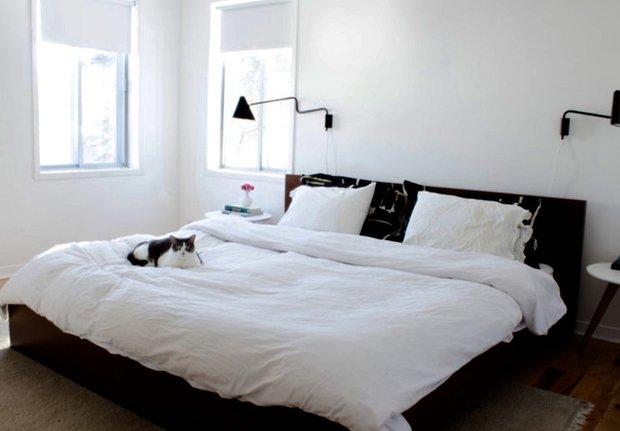 Фотография: Спальня в стиле Современный, DIY, Дом, Дома и квартиры, Камин – фото на INMYROOM