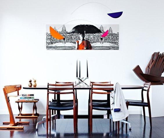 Фотография: Кухня и столовая в стиле Скандинавский, Современный, Декор интерьера, Дом, Дома и квартиры, Винтаж – фото на INMYROOM