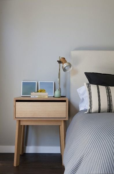 Фотография: Спальня в стиле Лофт, Скандинавский, Декор интерьера, Мебель и свет, Стол – фото на INMYROOM