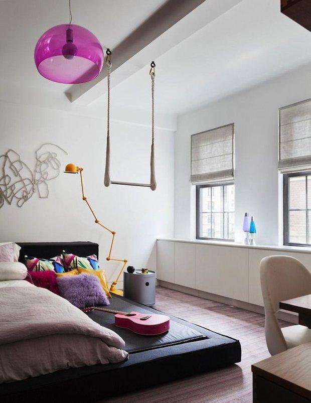 Фотография: Спальня в стиле Лофт, Детская, Интерьер комнат, Декор – фото на INMYROOM