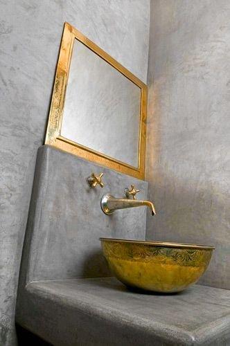 Фотография: Ванная в стиле Лофт, Восточный, Декор интерьера, Квартира, Декор, Советы, раковина, раковина в ванной – фото на INMYROOM