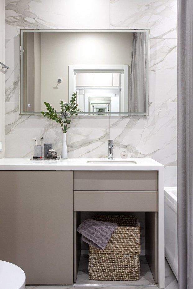 Фотография: Ванная в стиле Современный, Квартира, Гид – фото на INMYROOM