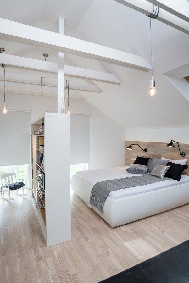 Фотография: Спальня в стиле Лофт, Скандинавский, Классический, Декор интерьера, Дом, Минимализм, Эко – фото на INMYROOM